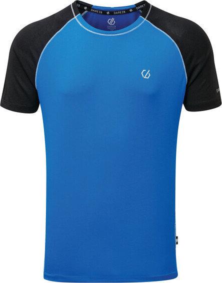 Modré pánské funkční tričko s krátkým rukávem Dare 2b