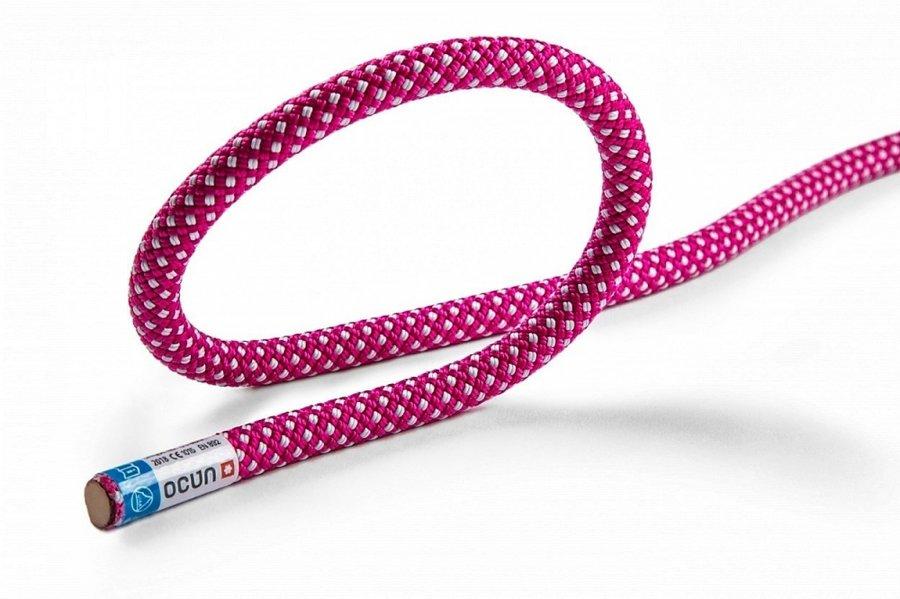 Fialové horolezecké lano Ocún - průměr 10 mm