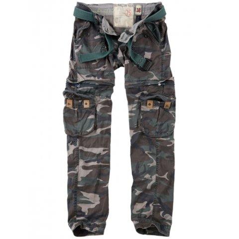 Kalhoty - Kalhoty dámské TREKKING PREMIUM WOODLAND