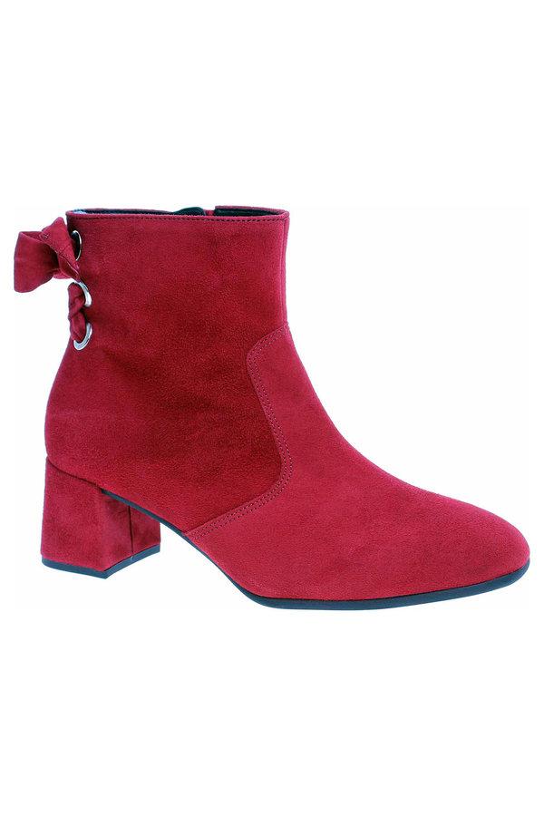 Červené dámské zimní boty Gabor - velikost 37,5 EU