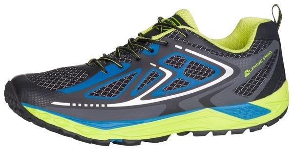Tyrkysové pánské běžecké boty Alpine Pro, Alpine Pro