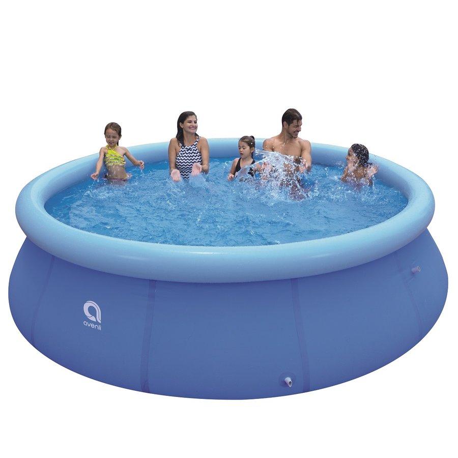 Nafukovací nadzemní kruhový bazén Master Pool - průměr 360 cm a výška 76 cm