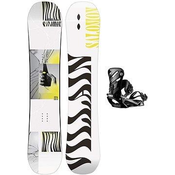 Snowboard s vázáním Salomon - délka 143 cm