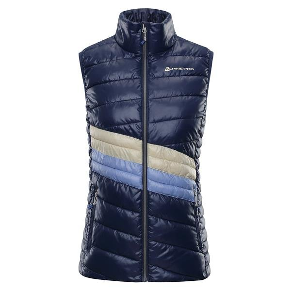 Modrá zimní dámská vesta Alpine Pro