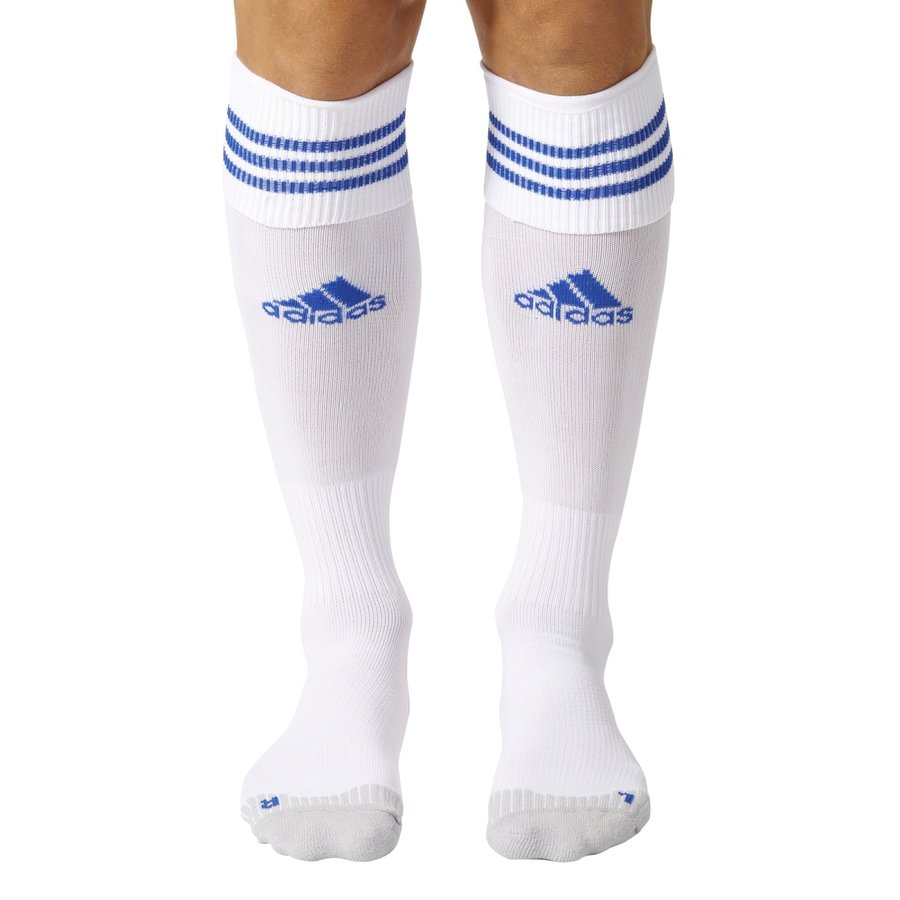 Bílé fotbalové štulpny Adisock 12, Adidas - velikost 37-39 EU