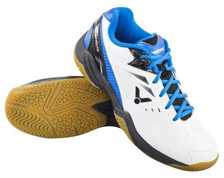 Bílá pánská sálová obuv SH-A170 LTD, Victor - velikost 44 EU