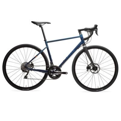 Modré silniční kolo RC 520, Triban