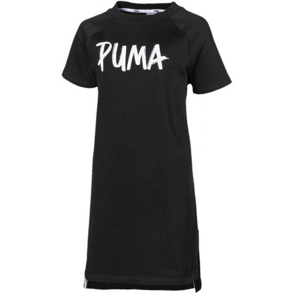 Černé dívčí šaty Puma