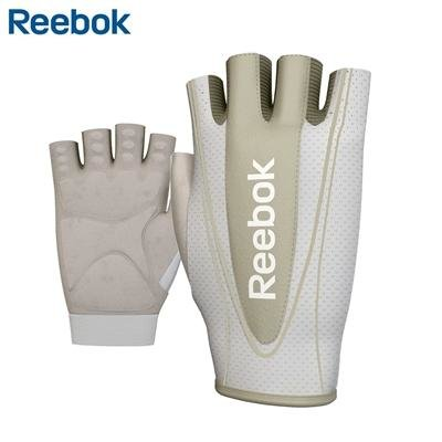 Fitness rukavice - Fitness rukavice REEBOK dámské champagne M/L