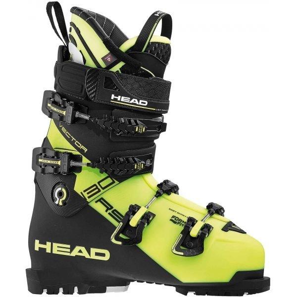 Černo-zelené pánské lyžařské boty Head