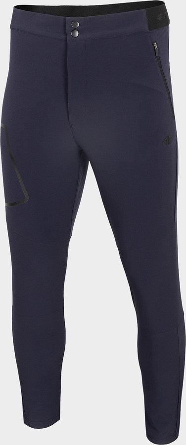 Modré pánské turistické kalhoty 4F