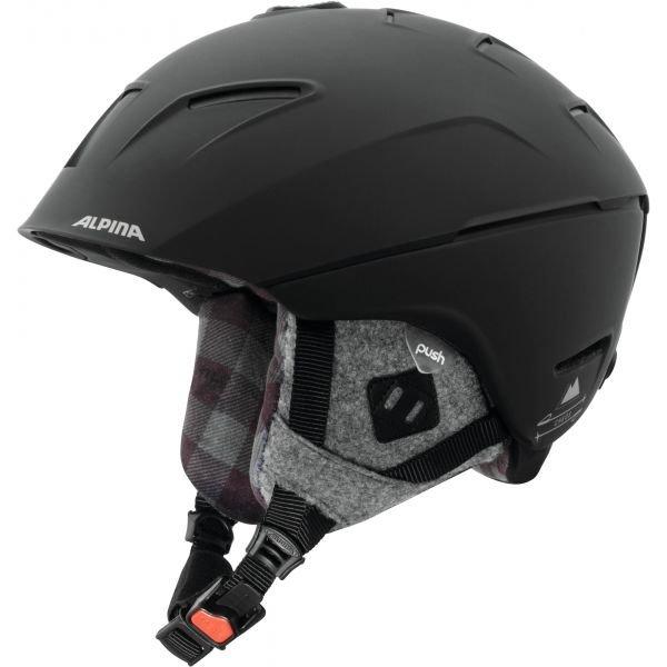 Černá pánská lyžařská helma Alpina - velikost 58-61 cm