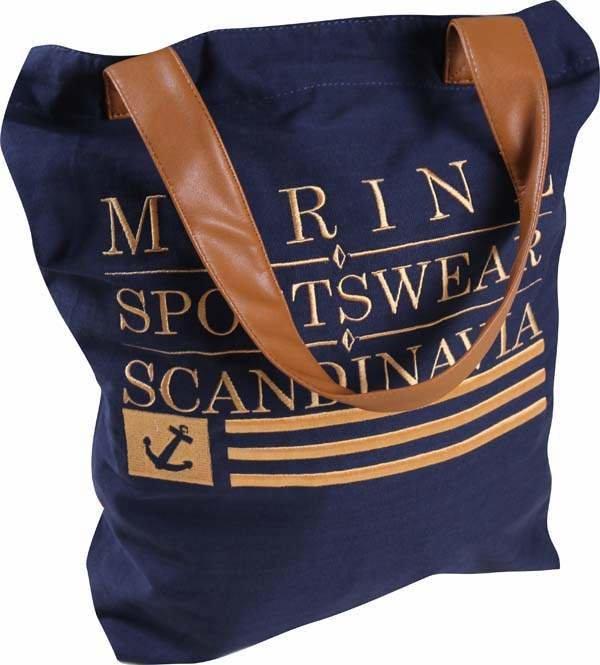 Sportovní taška - MARINE - TOTE bag - modrá