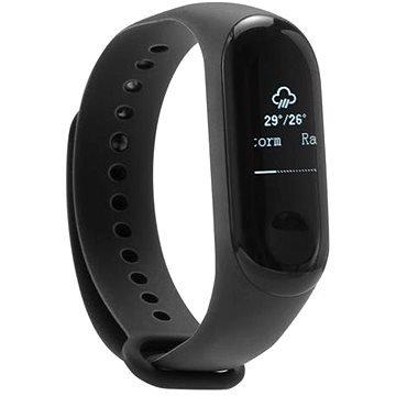 Černý fitness náramek Mi Band 3, Xiaomi