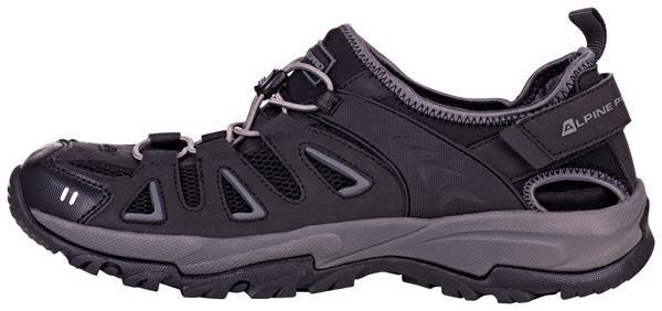 Černé sandály Alpine Pro - velikost 37 EU