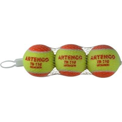 Oranžový tenisový míček TB 110, Artengo - 3 ks