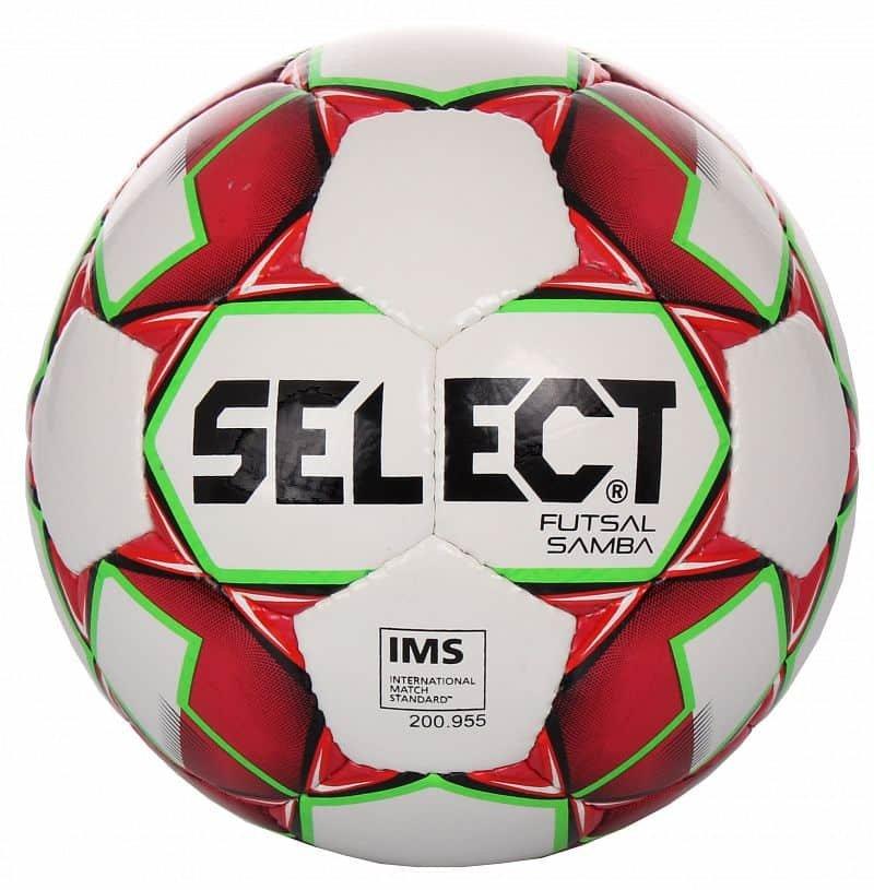Futsalový míč - FB Futsal Samba futsalový míč barva: bílá-červená;velikost míče: č. 4
