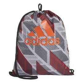 Červeno-šedý vak na záda Adidas