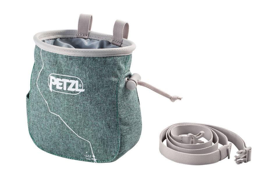 Zelený pytlík na magnézium Petzl