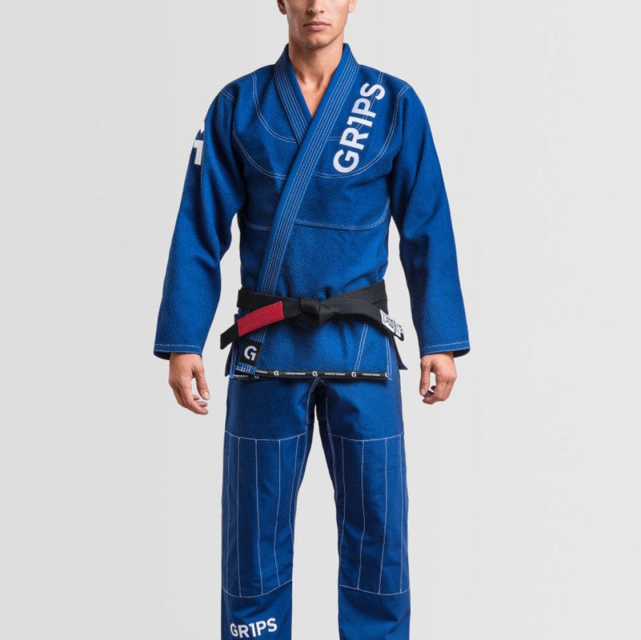 Modré kimono na jiu-jitsu Grips