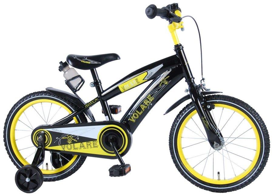 "Kolo - VOLARE - Dětské kolo, Freedom,, 16 ""- černo-žlutý"