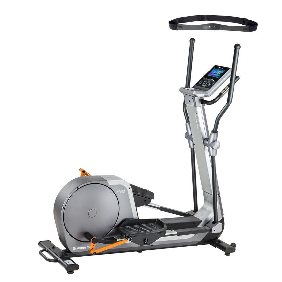 Magnetický eliptický trenažér inCondi ET650i, Insportline - nosnost 120 kg