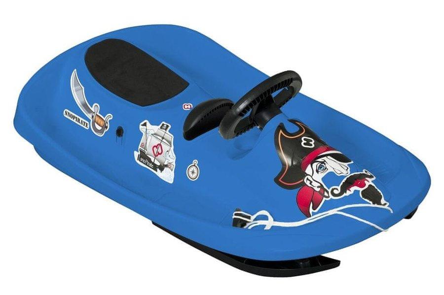 Modré dětské boby s volantem Hamax