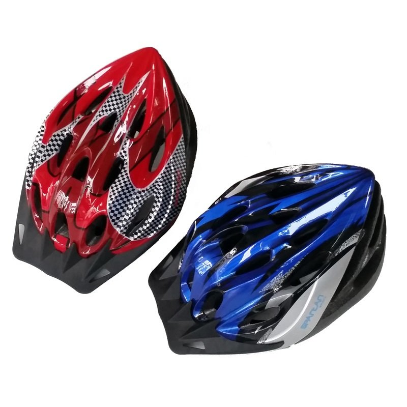 Modrá cyklistická helma SPARTAN SPORT - velikost M