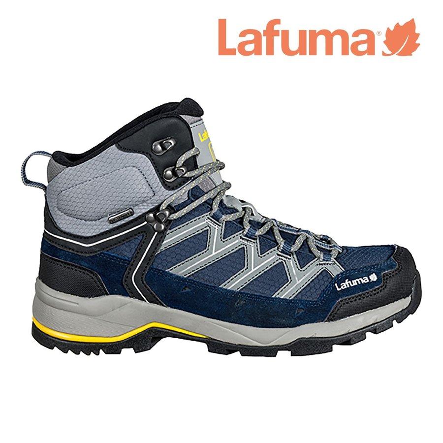 Modré voděodolné pánské trekové boty AYMARA, Lafuma