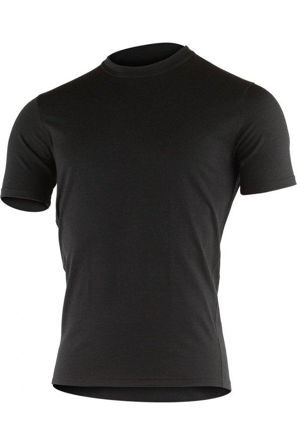 Černé pánské tričko s krátkým rukávem Lasting - velikost L