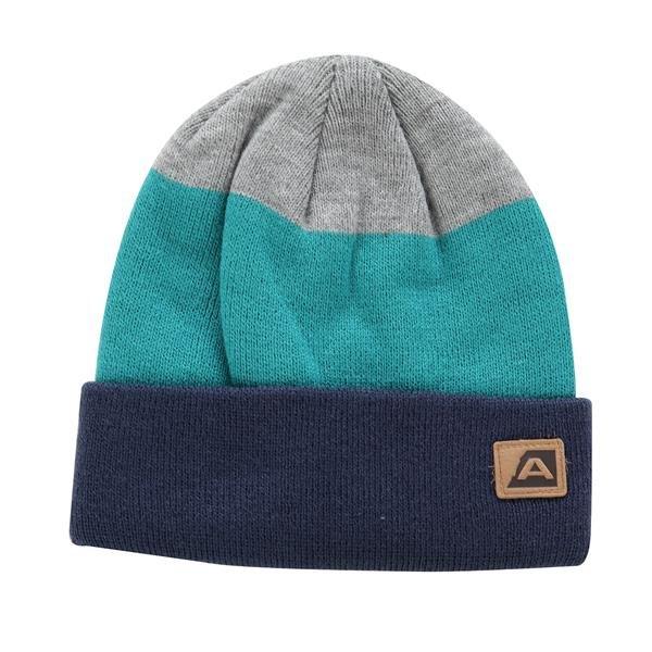 Zelená zimní čepice Alpine Pro - velikost M
