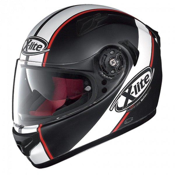 Helma na motorku X-661 Vinty N-Com Flat, X-lite
