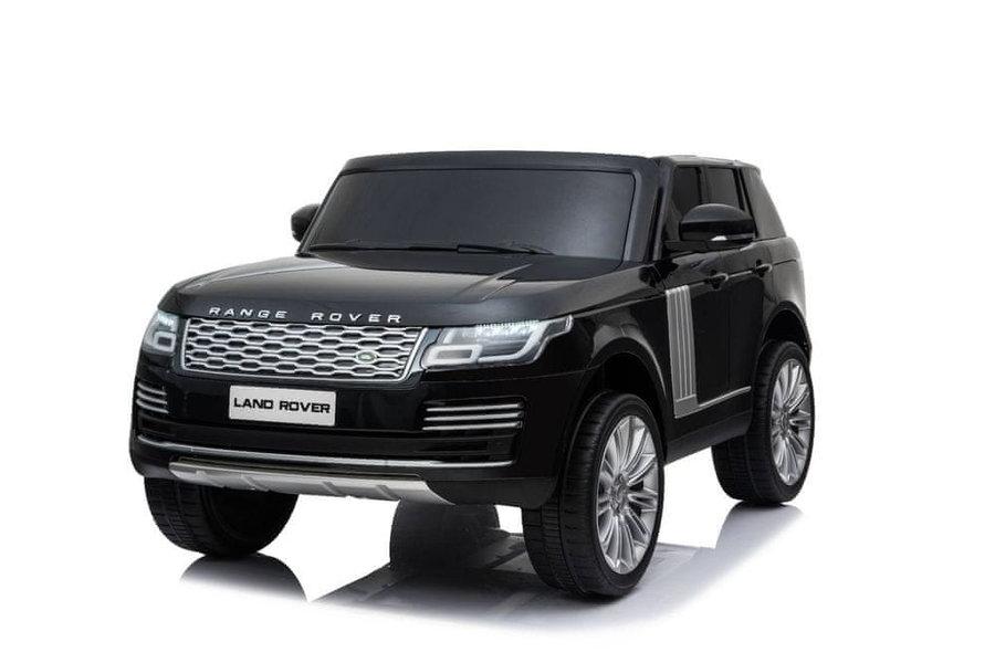 Černé dětské elektrické autíčko Range Rover, Beneo