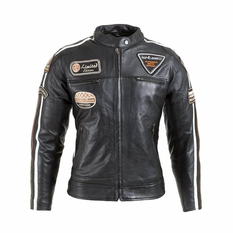 Černá dámská motorkářská bunda Sheawen Lady, W-TEC - velikost XS
