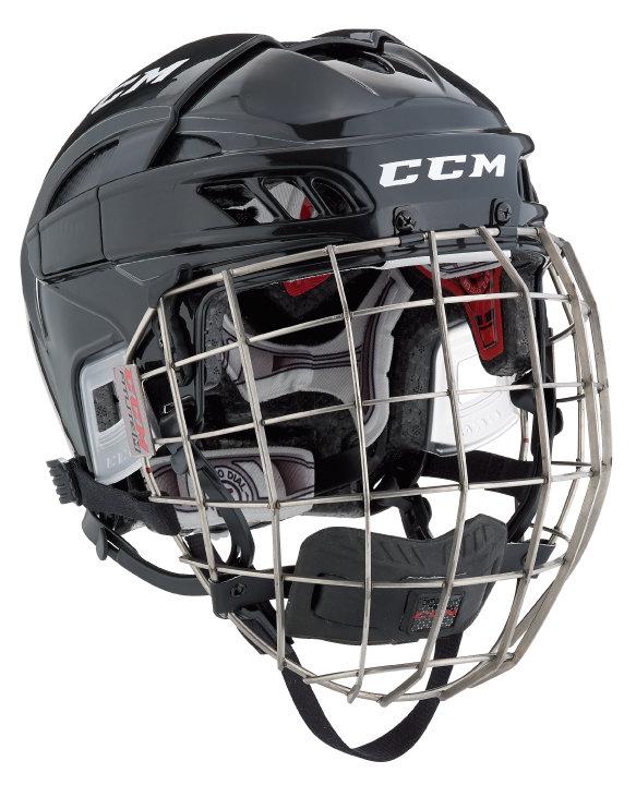 Hokejová helma - Combo CCM FITLITE Provedení: L - černá