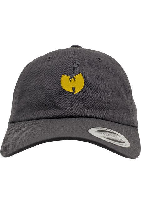 Zimní čepice - Wu-Wear Wu-Wear Logo Dadcap raw grey - UNI