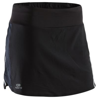 Černá dámská běžecká sukně Kalenji