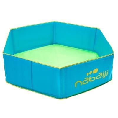 Skládací nadzemní dětský šestiúhelníkový bazén Nabaiji - průměr 88,5 cm a výška 21 cm