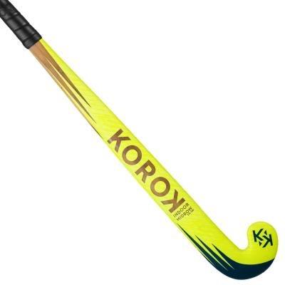 Žlutá hokejka na pozemní hokej Fh100, Korok - velikost 36,5