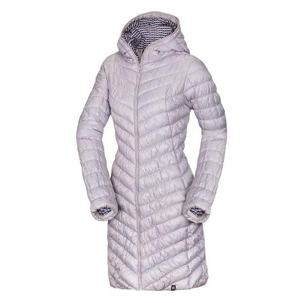 Fialový prošívaný dámský kabát NorthFinder
