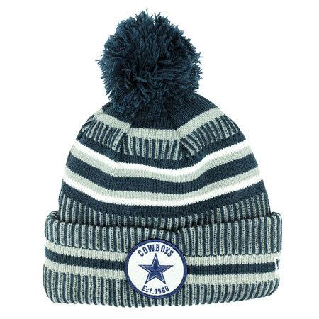 Šedá zimní čepice New Era