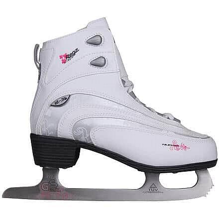 Lední brusle - Décor dámské brusle velikost (obuv / ponožky): 37