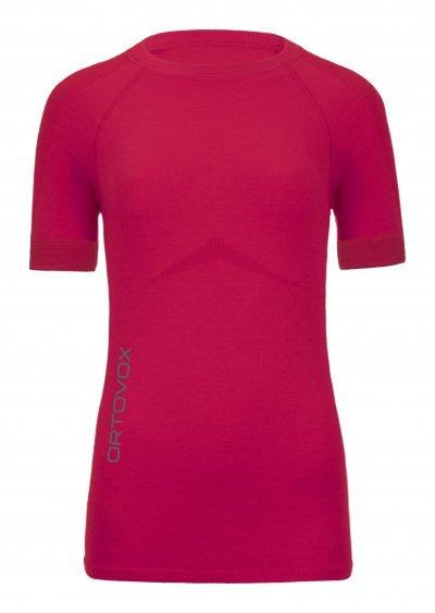 Růžové dámské termo tričko Ortovox - velikost L