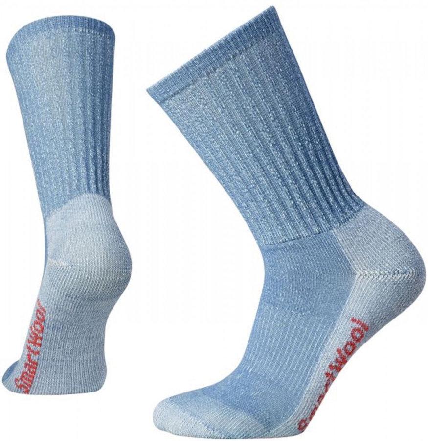 Modré dámské ponožky Hike Light Crew, SmartWool