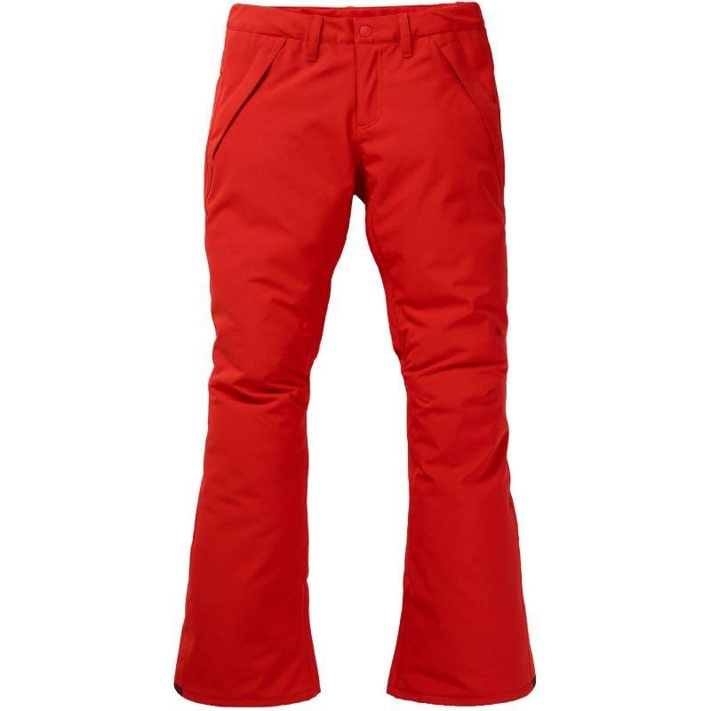 Červené dámské snowboardové kalhoty Burton