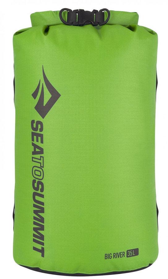 Zelený lodní vak Big River Dry Bag, Sea to Summit - objem 35 l
