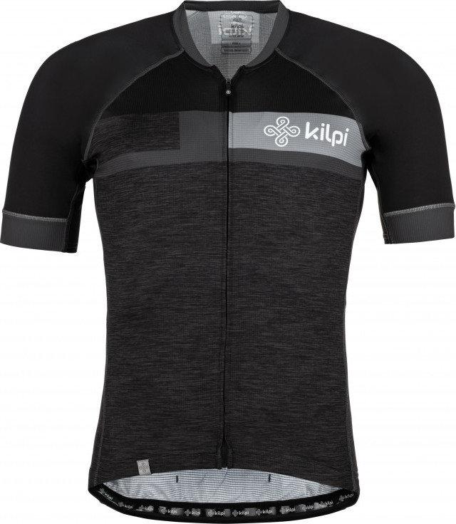 Šedý pánský cyklistický dres Kilpi - velikost S