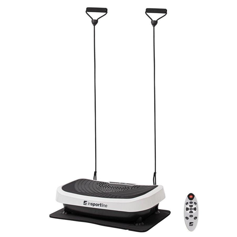 Vibrační plošina s gumovými expandéry Devyn, inSPORTline - nosnost 100 kg