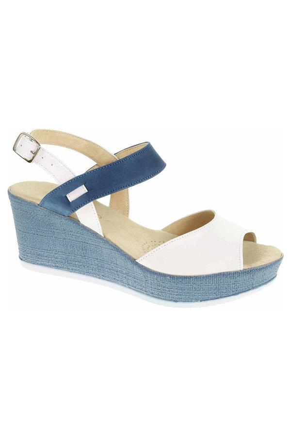 Bílo-modré sandály Rejnok Dovoz