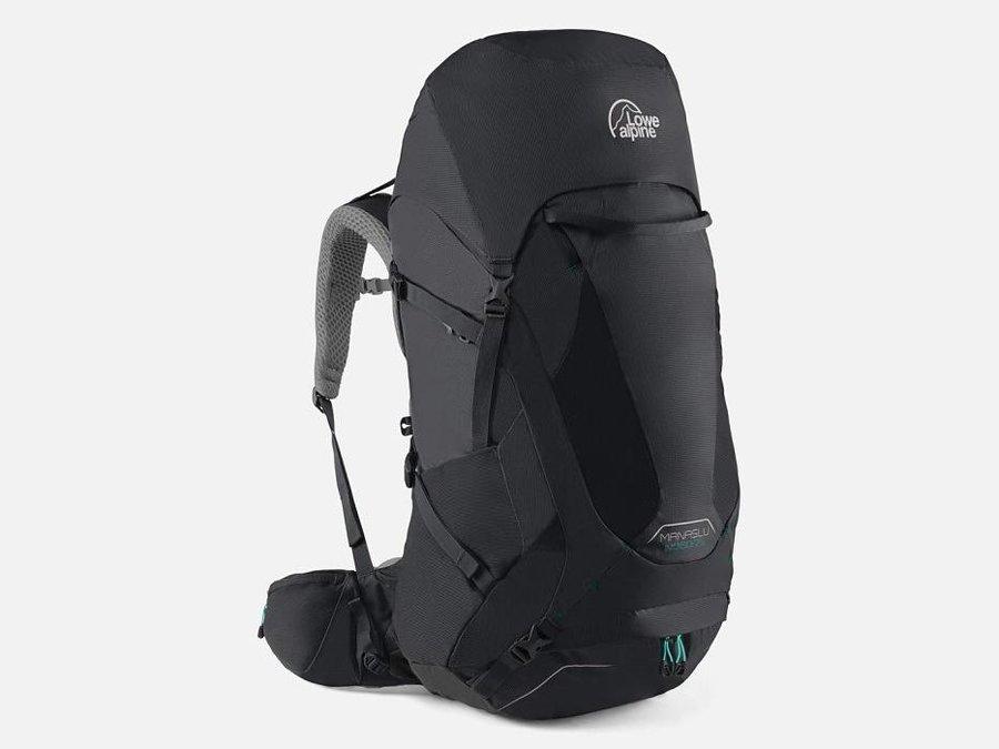 Černý turistický batoh Lowe Alpine - objem 75 l